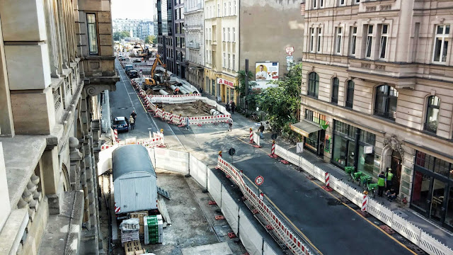 Baustelle Invalidenstraße / Chausseestraße, 10115 Berlin, 17.09.2014