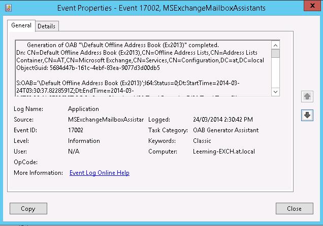 Managing Exchange Server 2007 Log Files (Part 1)