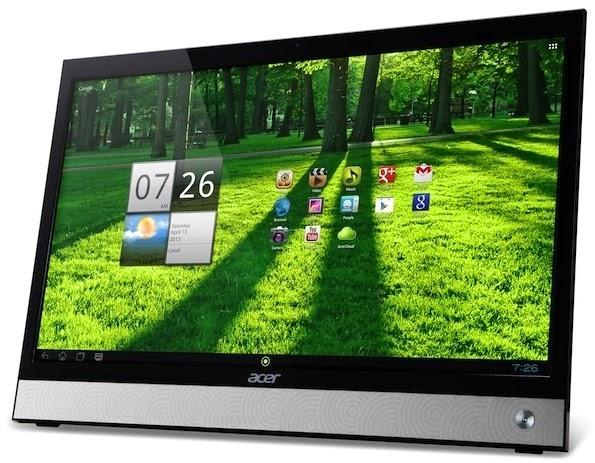 Acer делает ставку на моноблоки