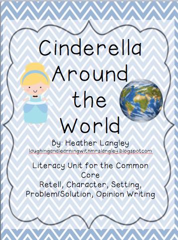 http://www.teacherspayteachers.com/Product/Cinderella-Around-the-World-Literacy-Pack-with-Opinion-Writing-647801