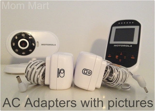 Motorola MBP18 Digital Wireless Video Baby Monitor AC Adapter