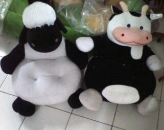 PUSAT GROSIR SOFA BONEKA SHAUN THE SHEEP
