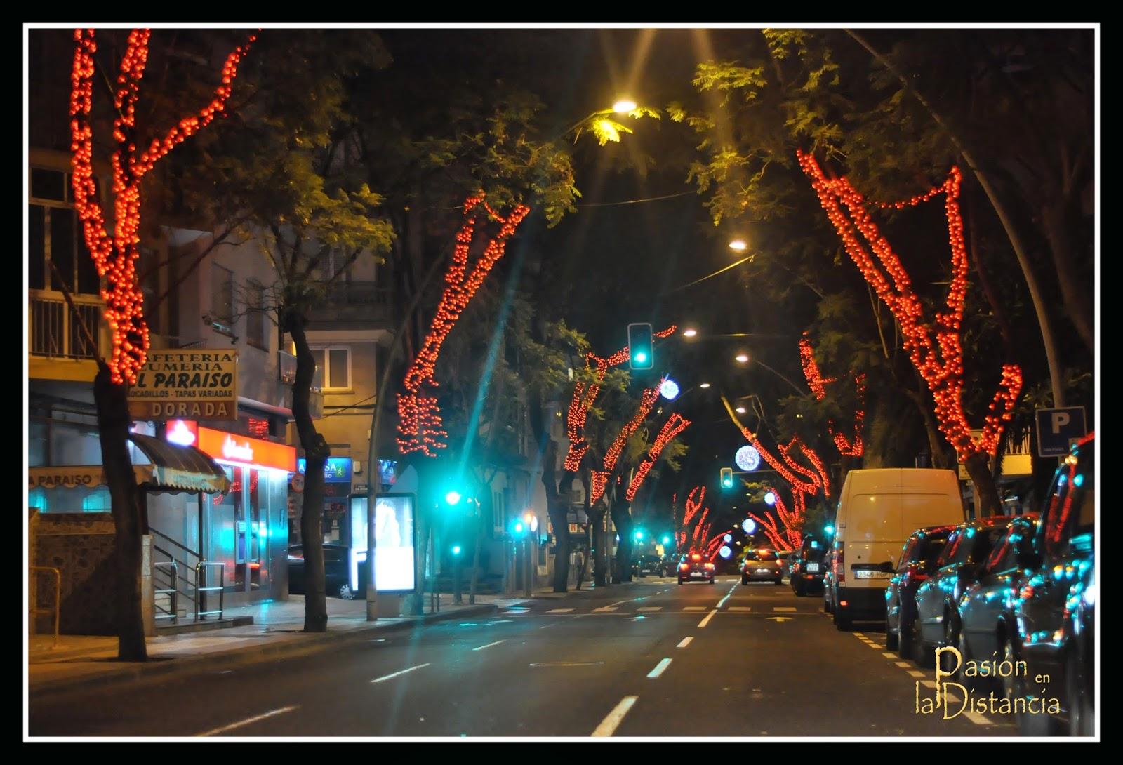 Alumbrado Navidad Santa Cruz de Tenerife 2014