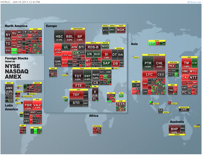 Actual World Heat Map Taken At This Time Of Writing Click For A Larger Version