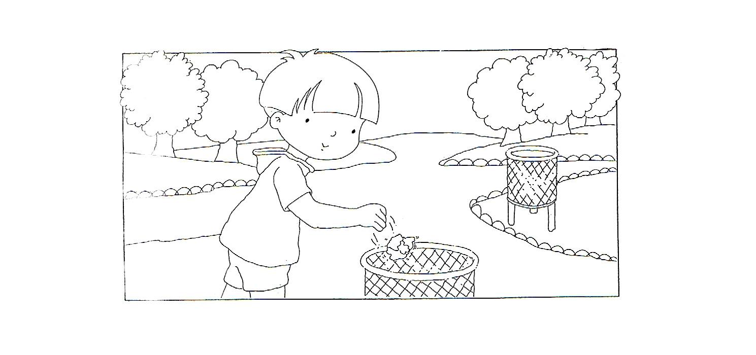 Imágenes de niños tirando basura - Imagui