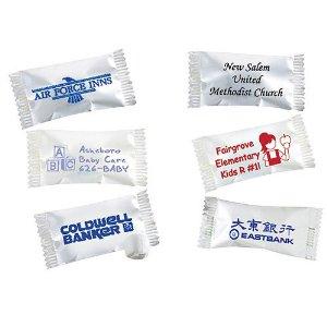 buttermints w custom wrappers