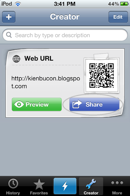 cai dat qr code cho ipod touch