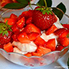 Deser truskawkowy