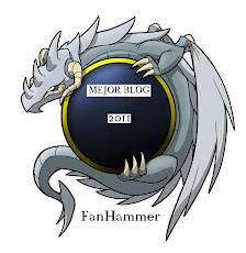 Premio Fanhammer al mejor blog 2011!