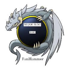 ¡Premio Fanhammer al mejor blog 2011!