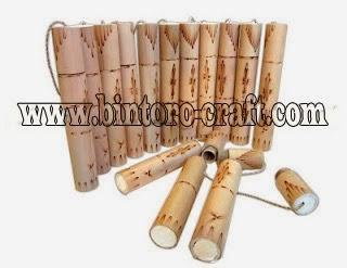 Undangan Pernikahan Klasik Kuno Bambu Gulung Nawala