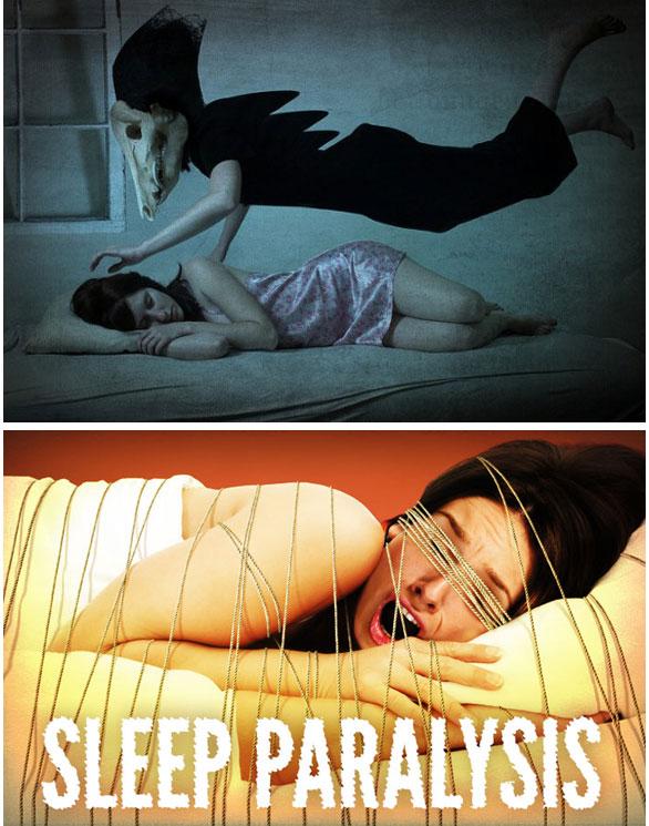 sleep paralysis, ditindh ketika tidur, gambar ditindih semasa tidur, kisah seram, mimpi seram