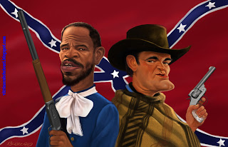 Jamie Foxx,Quentin Tarantino, Django Unchained,vitrina cu bebelouri