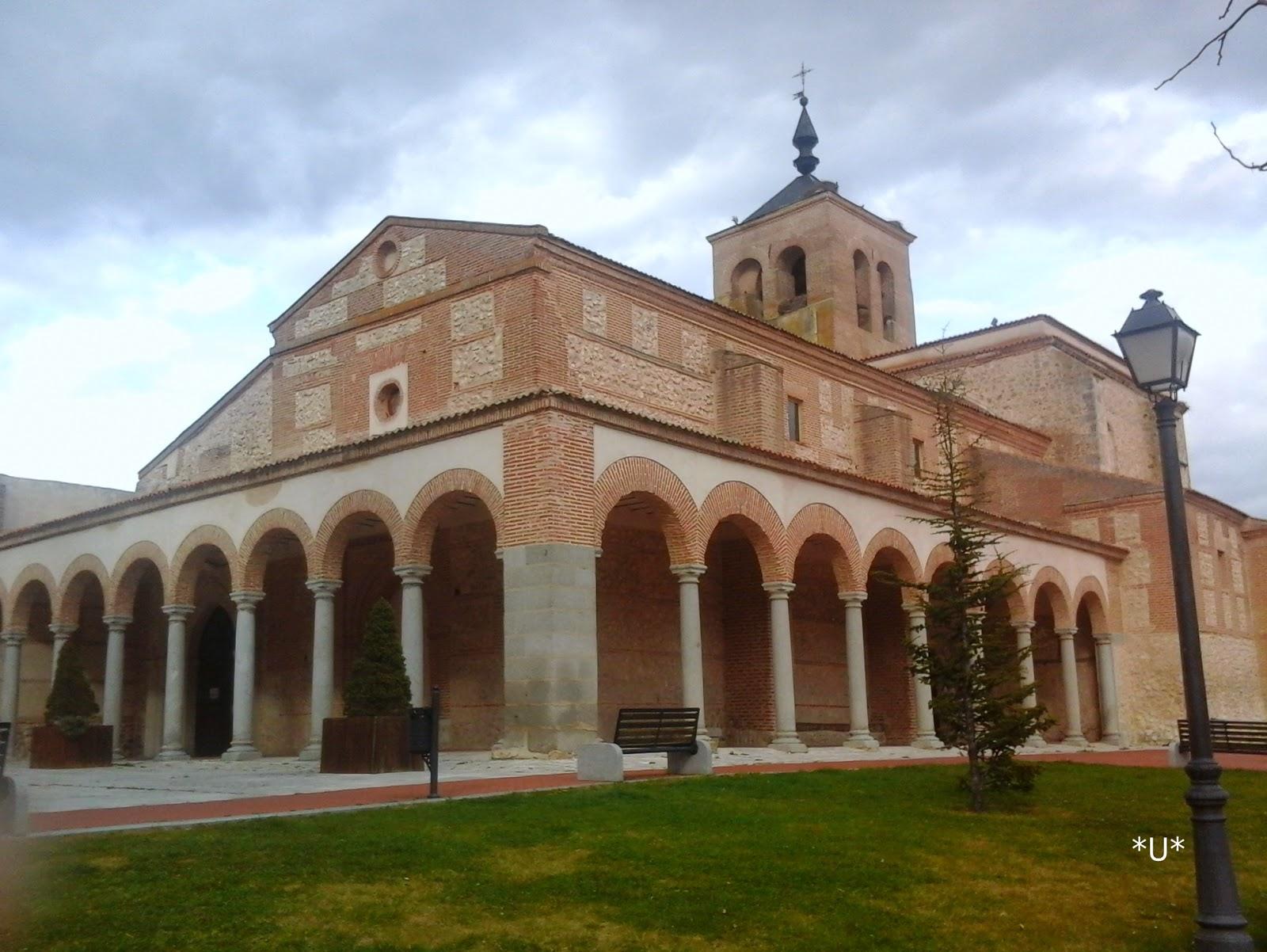 Iglesia santa María castillo Olmedo