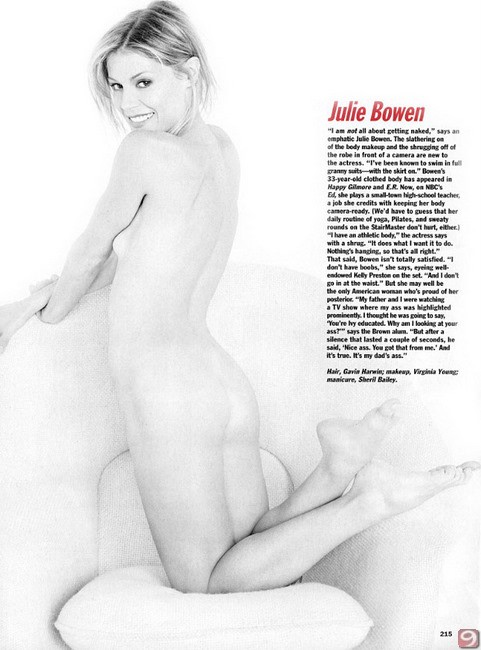 Julie Bowen Topless