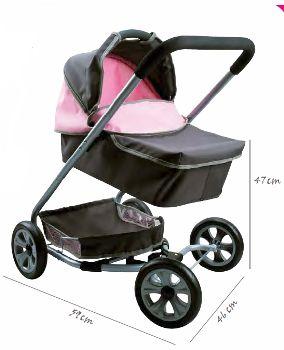 Zelfs een levensechte poppenwagen voor een tweeling is beschikbaar. In ...: speelgoed-kopen.blogspot.com/2011/07/de-leukste-poppenwagens.html