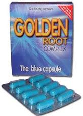 منتج كبسولات الجذر الذهبي - للرجل الكامل ، اعشاب متميزة لرفع الأداء