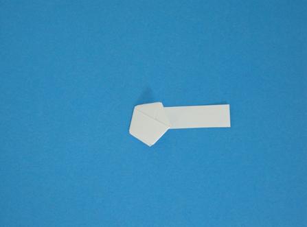 melipat origami bintang
