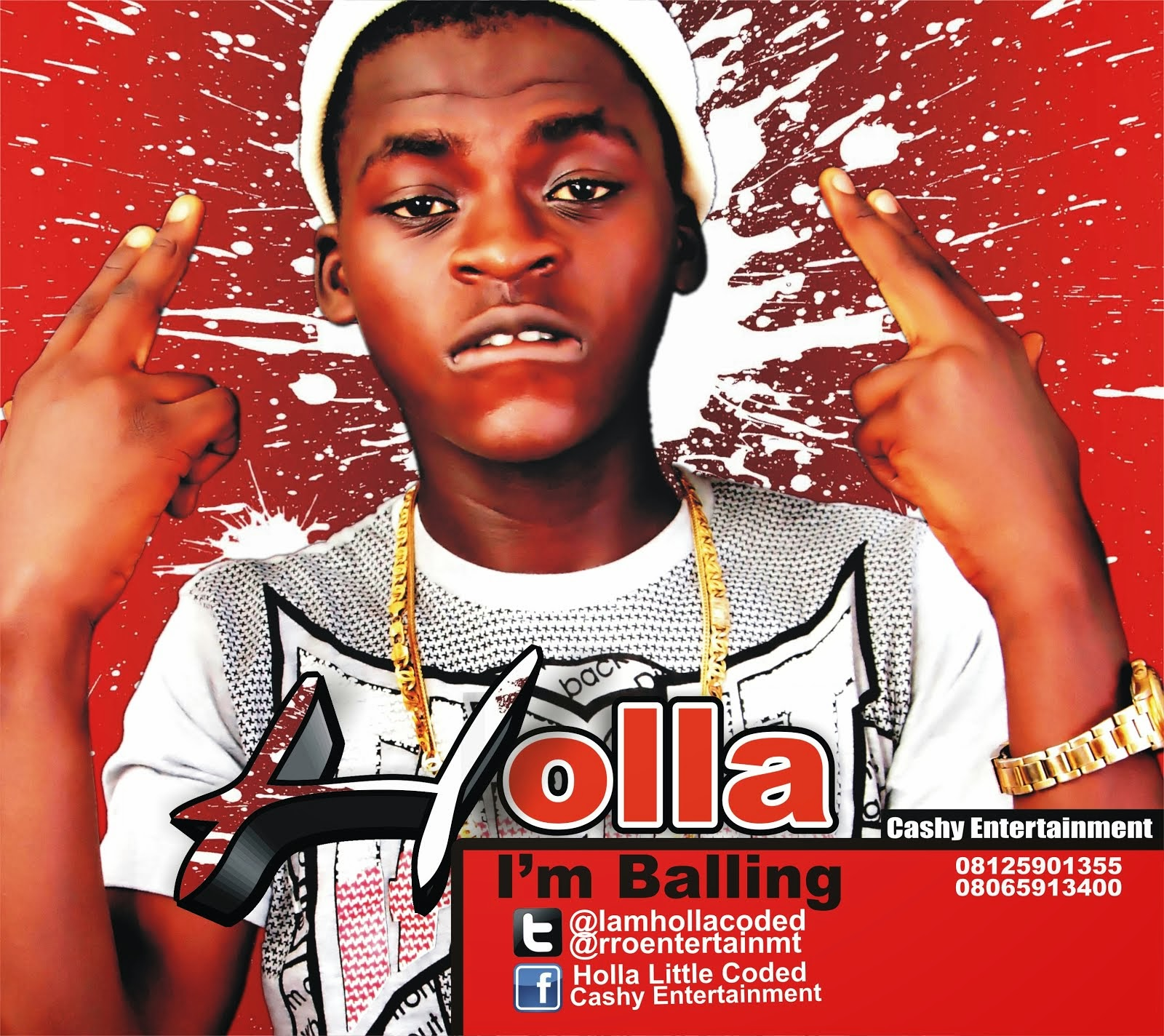 HOLLA - I'M BALLING + FEELING THE BOY - @rroentertainmt, @iamhollacoded