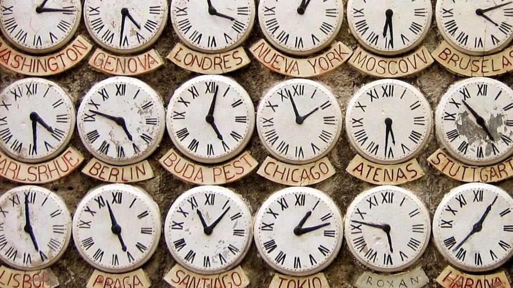 Husos horarios fuera de lo com n en el mundo abimelec - Tiempo en puertollano por horas ...