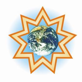 Nine Pointed Star http://bahaicause.blogspot.com/2011/12/bahai-faith-bahai.html