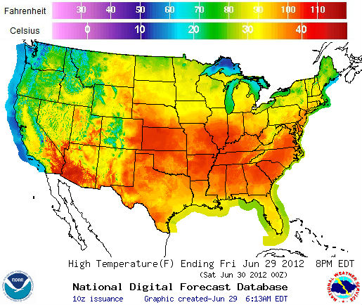 Arctic News Earth On Fire - Us temperature map celsius