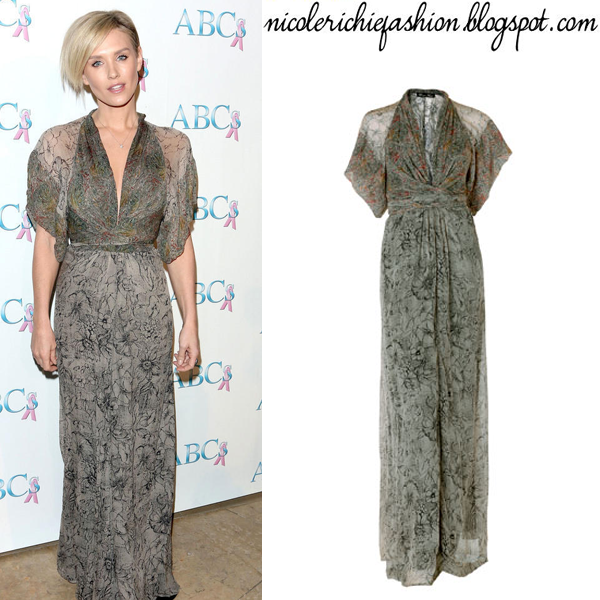Nicky Whelan Wearing Winter Kate