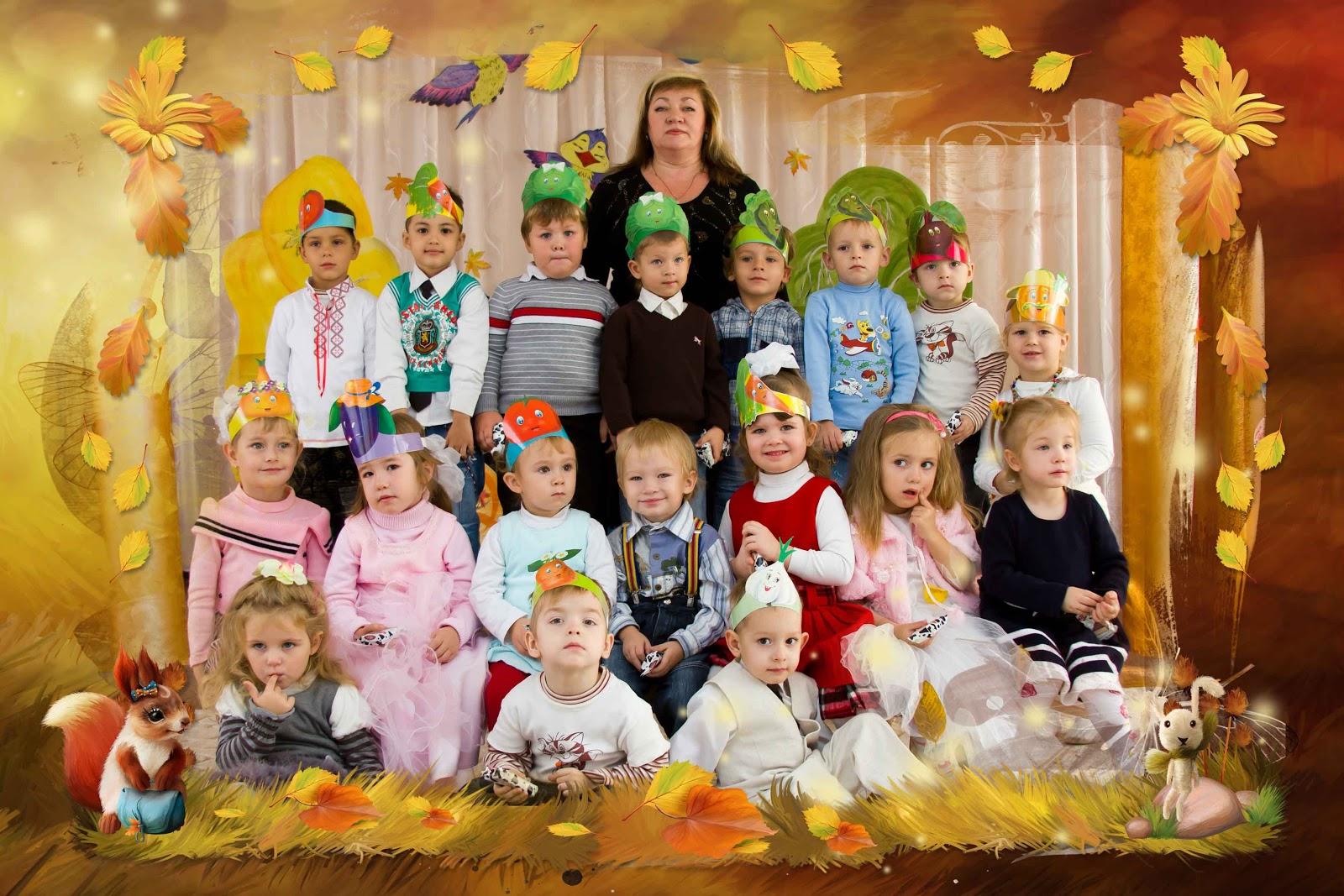 Осенний дизайн в детском саду