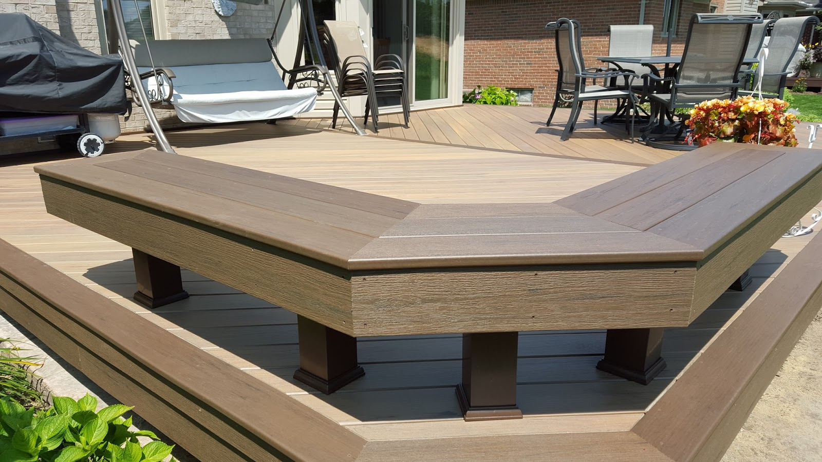 how to build very low deck