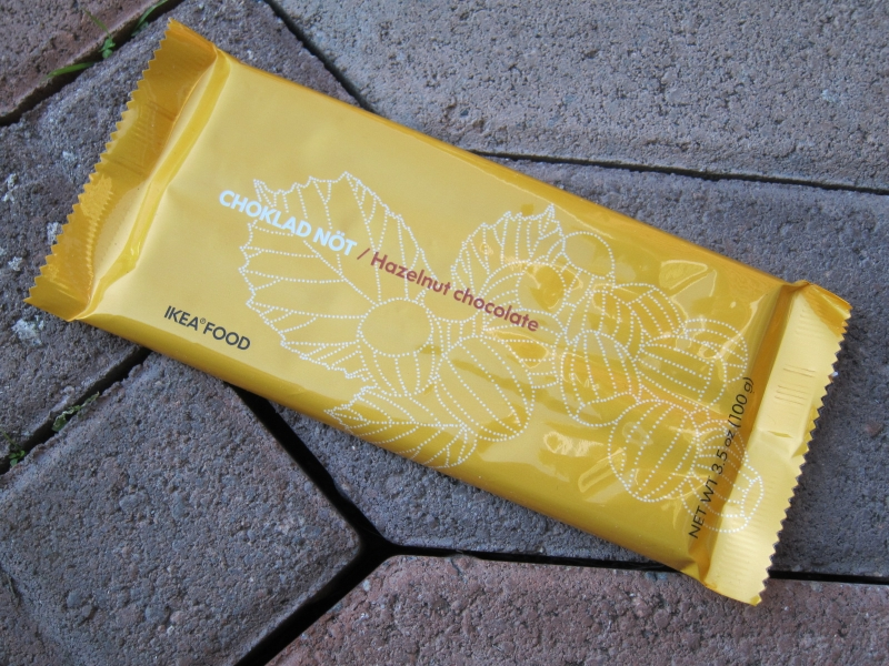 review ikea hazelnut chocolate bar brand eating