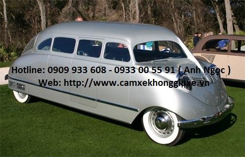 Stout Scarab - minivan đầu tiên trên thế giới