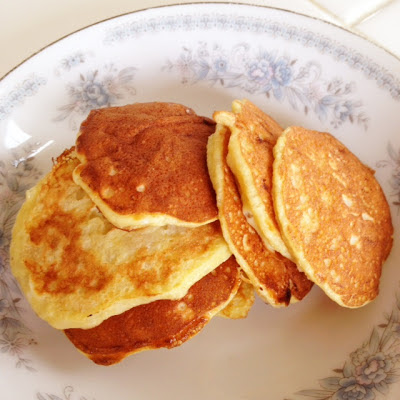 http://www.blogilates.com/recipe-index/100-natural-pancakes-recipe-gluten-free-flourless-low-calorie