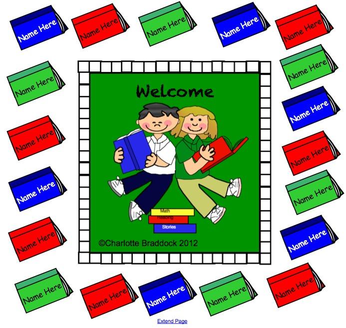 Smartboard Kindergarten Calendar : Charlotte s clips and kindergarten kids free smartboard