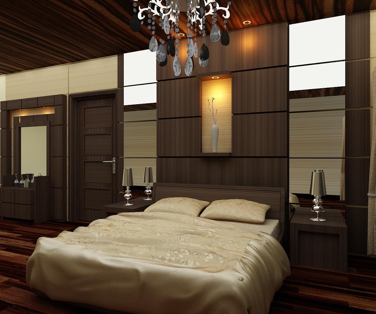 Alpha interior design cijagra residence for Decor kamar tidur