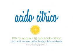 acido citrico, pulizie di casa, spignatto con acido citrico