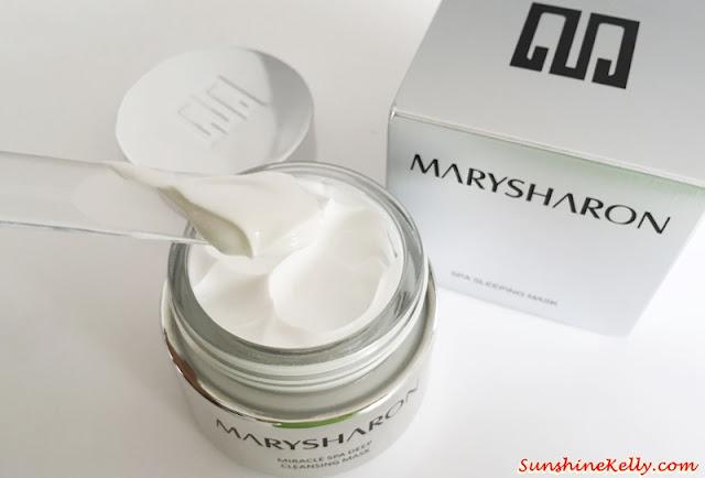MarySharon SPA Sleeping Mask, Beauty Review, Mask Review, MarySharon