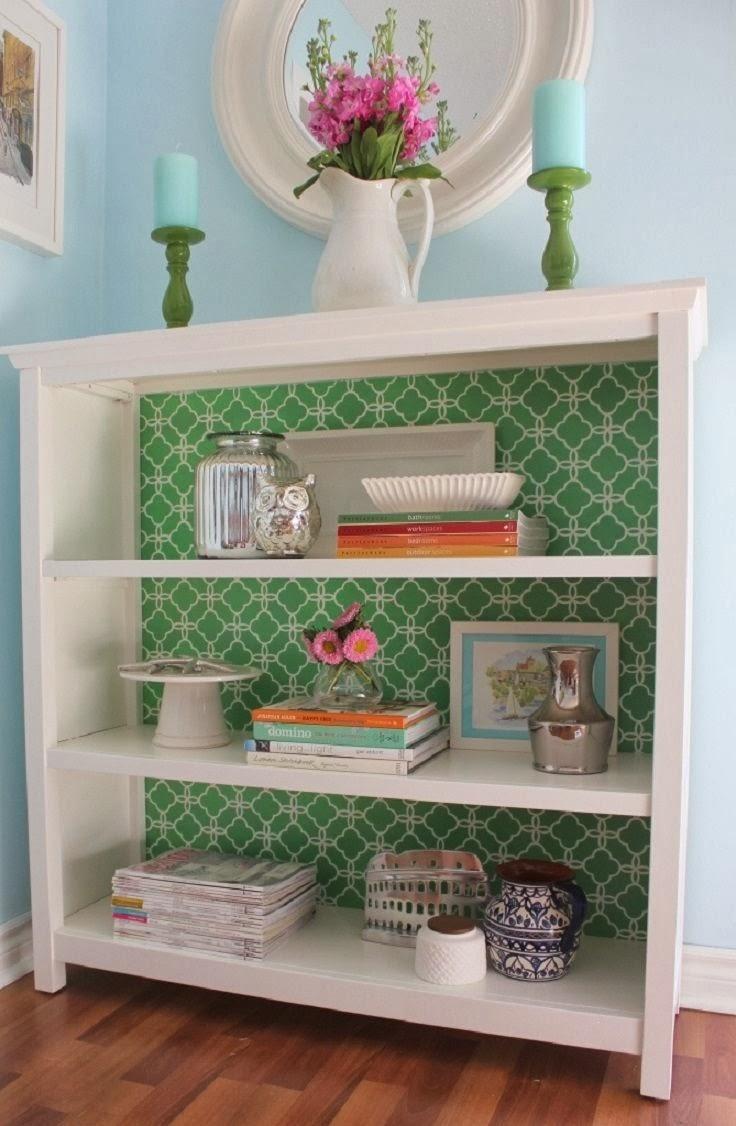 Как обновить мебельную стенку своими руками? Фото, видео 84
