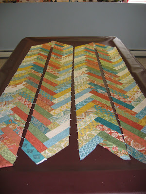 Prayer Flag Friendship Braid Quilt ~ Getting Started