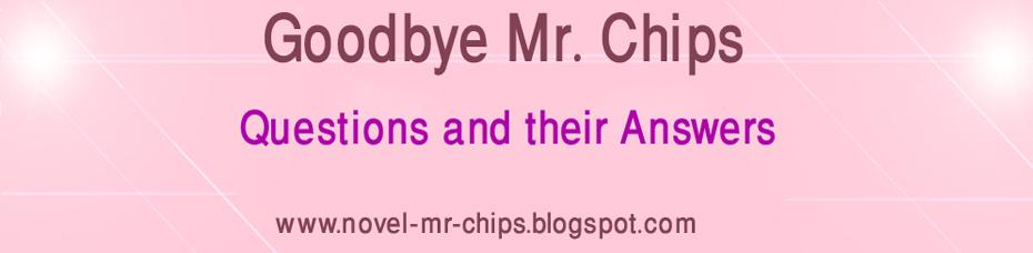Goodbye Mr. Chips (Novel)
