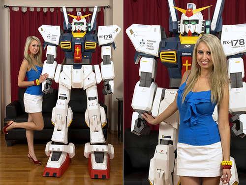 Robot Hecho Con Cajas De Cart  N