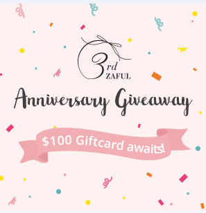 Anniversary Giveway