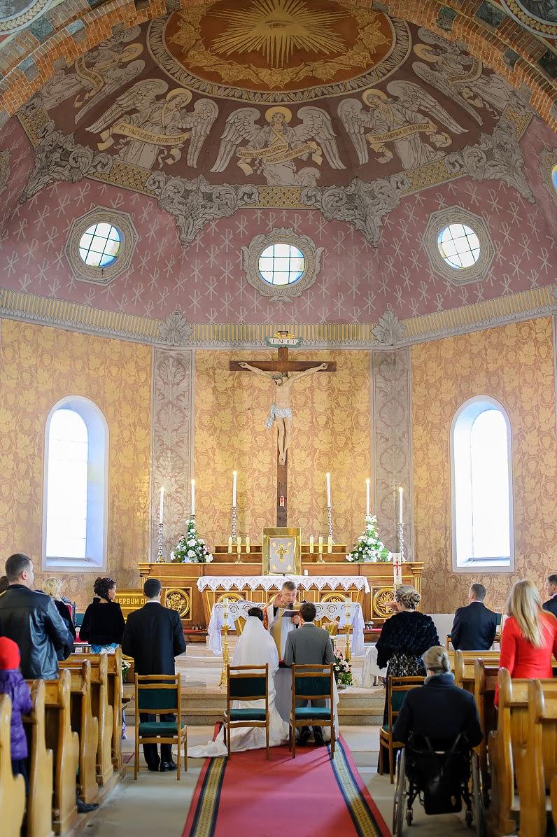 graži bažnyčia vestuvėms ślub