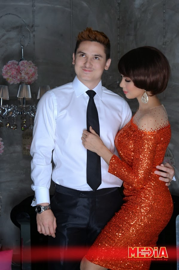 Pasangan Zain Saidin dan Rozita Che Wan Seksi Hot Artis Malaysia