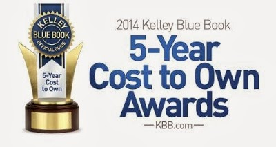 Buick Earned Three KBB.com 5-Year Cost to Own Awards