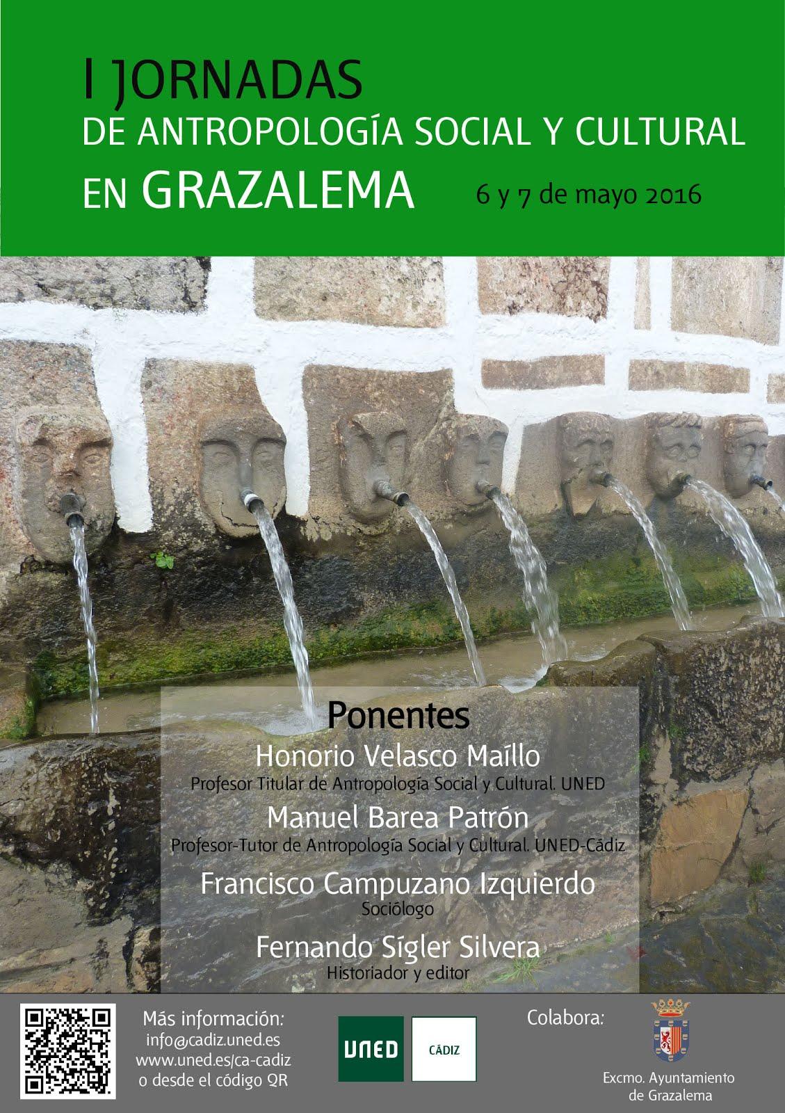 I Jornadas de Antropología 6 y 7 de mayo