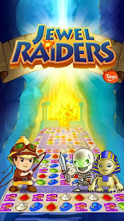 Screenshots of the Jewel raiders Tango for Android tablet, phone.