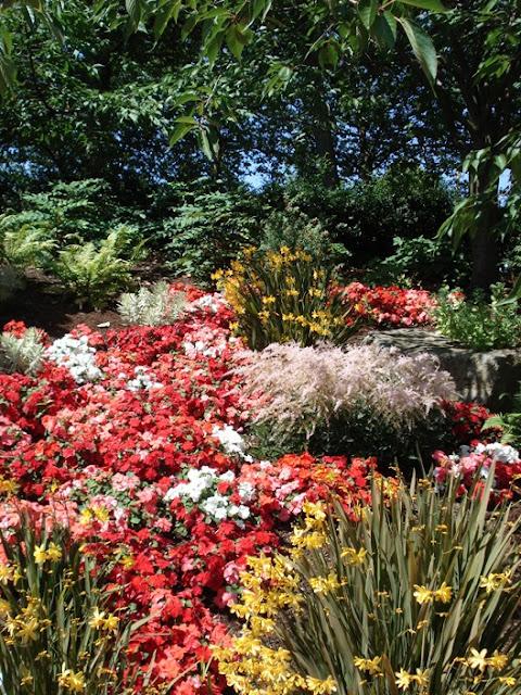 International Fountain gardens in Seattle WA