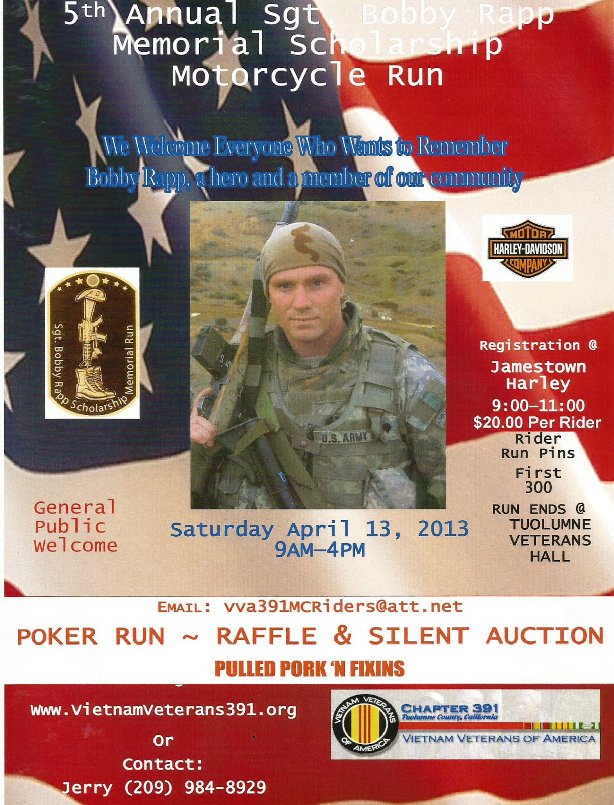 Copper Gazette  5th Annual Sgt Bobby Rapp Motorcycle Run