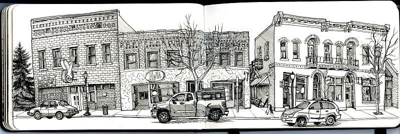 Basic Drawing 1 Free Hand Perspective Amp Urban Sketching