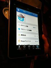 Skype en iPad
